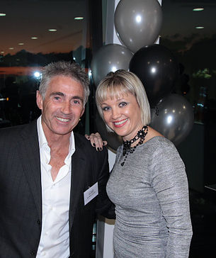 Mick Doohan and Clare Katavich